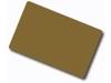 Plastikkarten gold-rot, 30 mil, 100 Stk. - klein