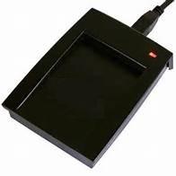 SMART TIME RFID-Tischleser, schwarz