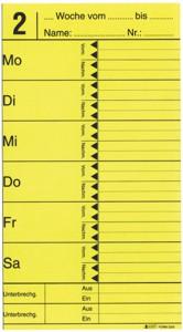 AMANO Stempelkarte F 3200