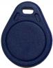 Proximity Codeträger 125kHz, 9 stellig, blau, als Schlüsselanhänger - klein