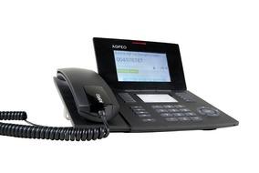AGFEO ST56 IP Systemtelefon schwarz