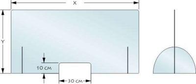Schutzwände aus Acrylglas