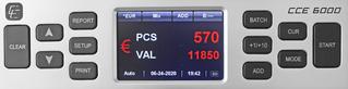 Geldscheinzähler CCE 6000