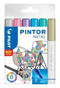 Pintor EF 6er Set Metallic