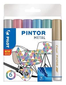 Pintor M 6er Set Metallic