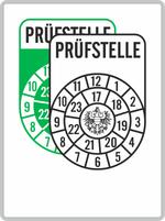 Plakette grün-weiß