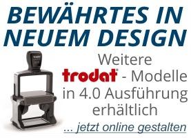 Neue Trodat 4.0 Modelle verfügbar