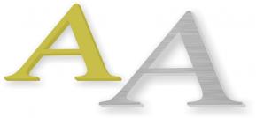 Alu-Buchstaben
