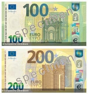 Update auf neue Banknoten Serie II / 2