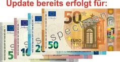 Update für 5, 10 und 20 Euro Scheine bereits durchgeführt!